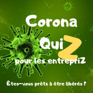 CoronaQuiz pour les Entrepriz