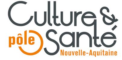 Logo Culture et santé Nouvelle Aquitaine