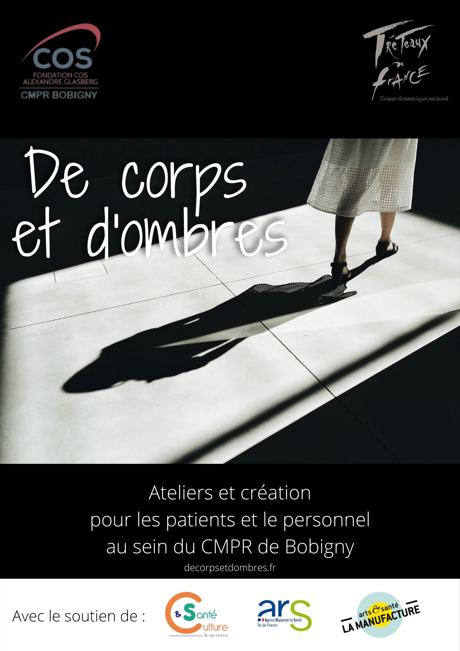 affiche de corps et d'ombres